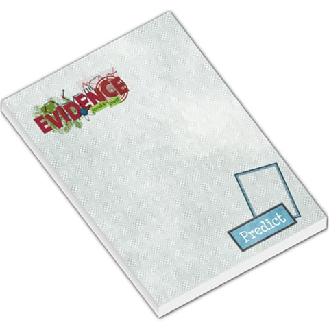 Learn Discover Explore Memo Pad 1 By Lisa Minor   Large Memo Pads   Tv9upvat84l1   Www Artscow Com
