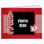 Sweetie Alphabet Book 1 - 7x5 Photo Book (20 pages)