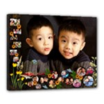 Twins 3 - Canvas 20  x 16  (Stretched)