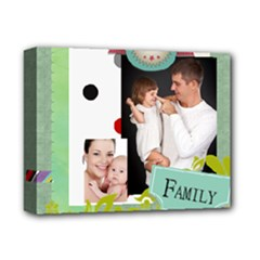 family - Deluxe Canvas 14  x 11  (Stretched)