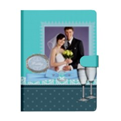 Apple iPad 2 Woven Pattern Leather Folio Case Closed