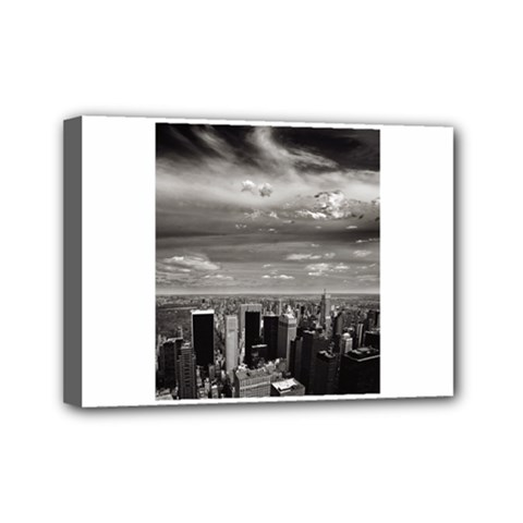 New York 5  X 7  Framed Canvas Print by artposters