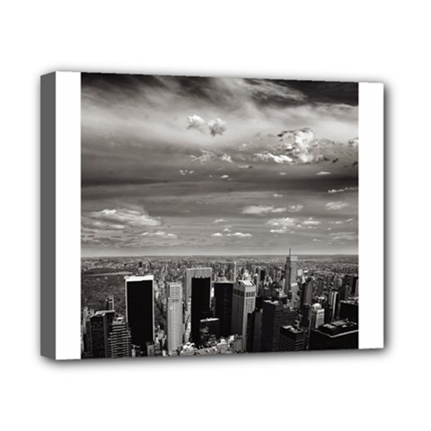 New York 8  X 10  Framed Canvas Print by artposters