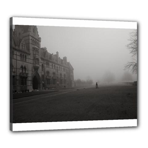 Christ Church College, Oxford 20  X 24  Framed Canvas Print by artposters