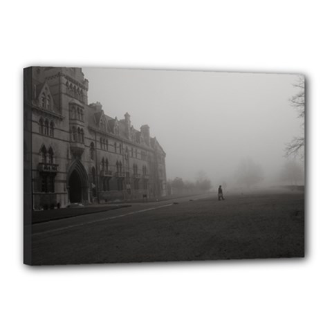 Christ Church College, Oxford 12  X 18  Framed Canvas Print by artposters