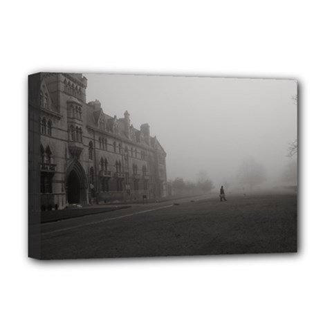 Christ Church College, Oxford Deluxe Canvas 18  X 12  (stretched) by artposters