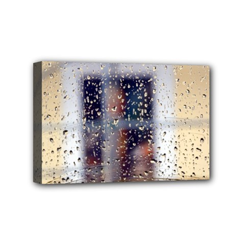 Rainy Day 4  X 6  Framed Canvas Print by artposters