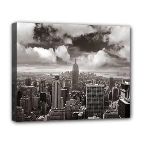 New York, Usa Deluxe Canvas 20  X 16  (stretched) by artposters
