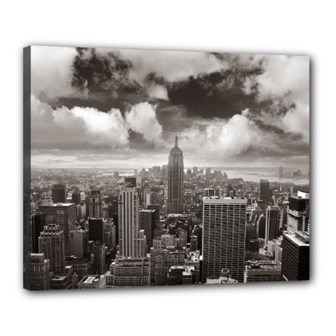 New York, Usa 16  X 20  Framed Canvas Print by artposters