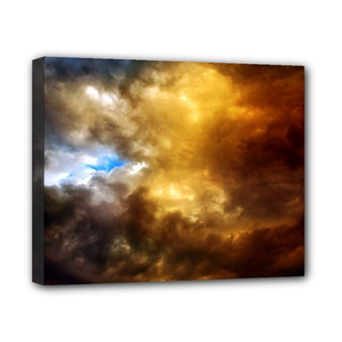 Cloudscape 8  X 10  Framed Canvas Print by artposters