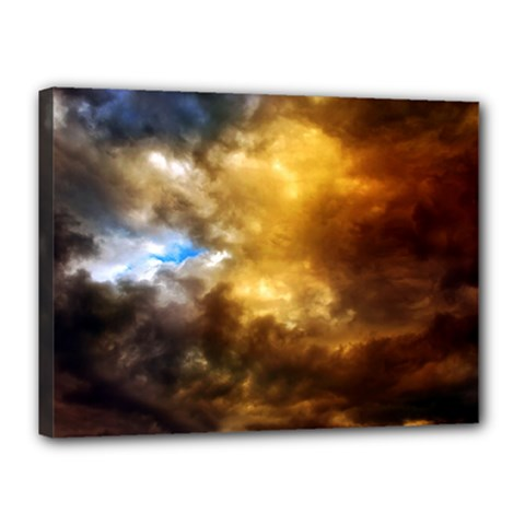 Cloudscape 12  X 16  Framed Canvas Print by artposters