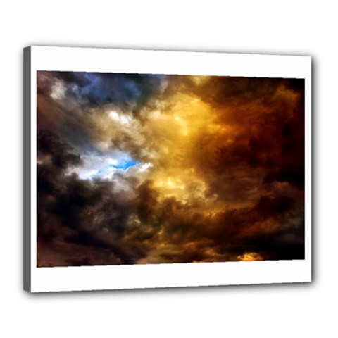 Cloudscape 16  X 20  Framed Canvas Print by artposters