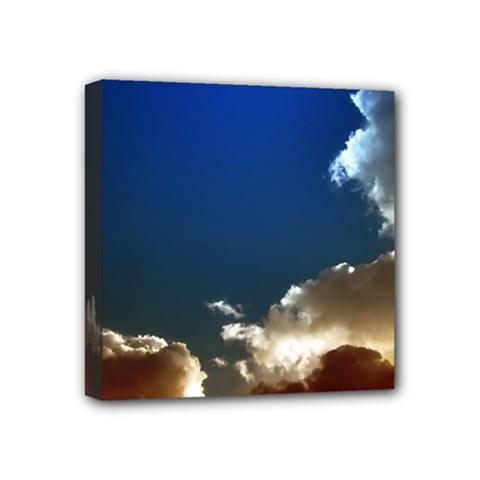 Cloudscape 4  X 4  Framed Canvas Print