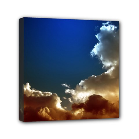 Cloudscape 6  X 6  Framed Canvas Print by artposters