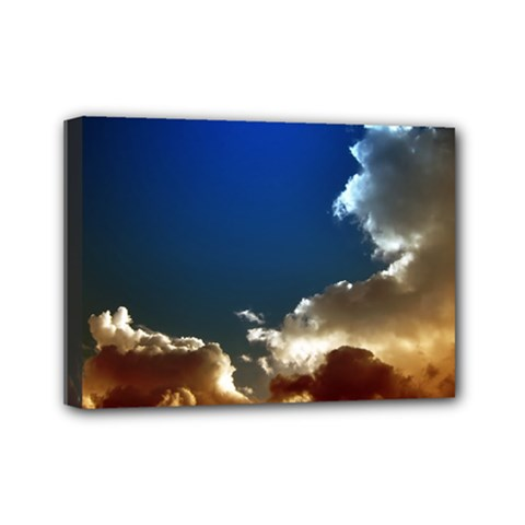 Cloudscape 5  X 7  Framed Canvas Print by artposters