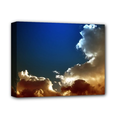 Cloudscape Deluxe Canvas 14  X 11  (stretched) by artposters