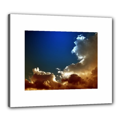 Cloudscape 20  X 24  Framed Canvas Print
