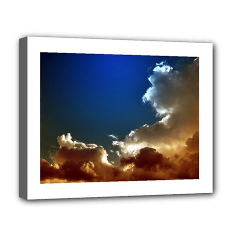 Cloudscape Deluxe Canvas 20  X 16  (stretched)