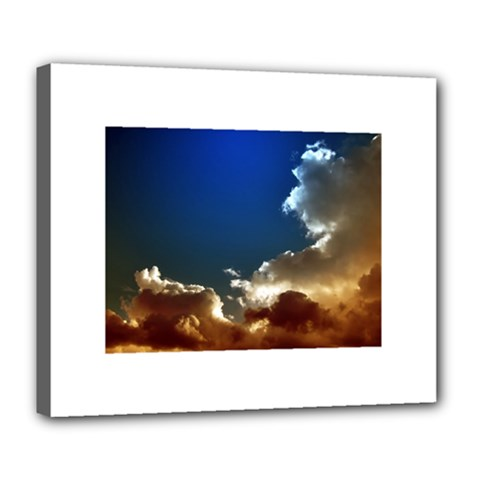 Cloudscape Deluxe Canvas 24  X 20  (stretched) by artposters