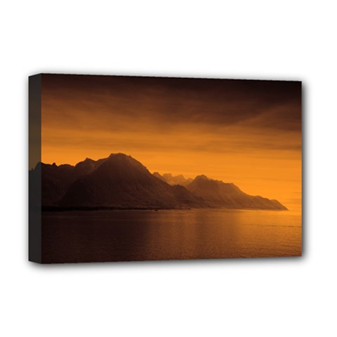 Waterscape, Switzerland Deluxe Canvas 18  X 12  (stretched) by artposters