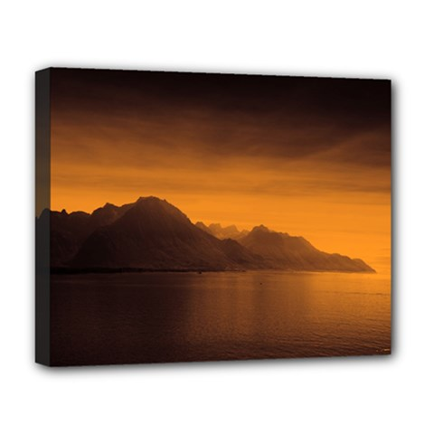 Waterscape, Switzerland Deluxe Canvas 20  X 16  (stretched) by artposters