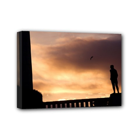 Vigeland Park, Oslo 5  X 7  Framed Canvas Print by artposters