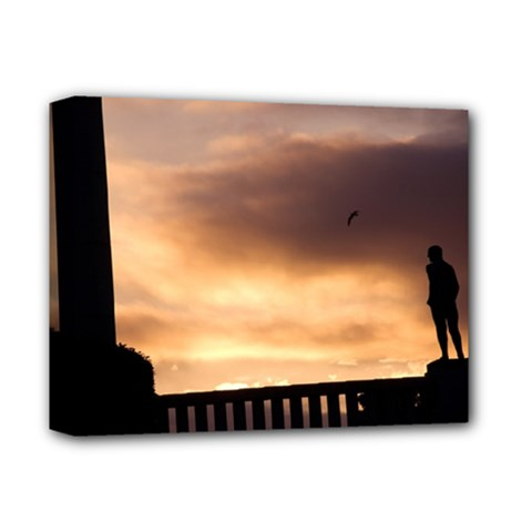 Vigeland Park, Oslo Deluxe Canvas 14  X 11  (stretched) by artposters