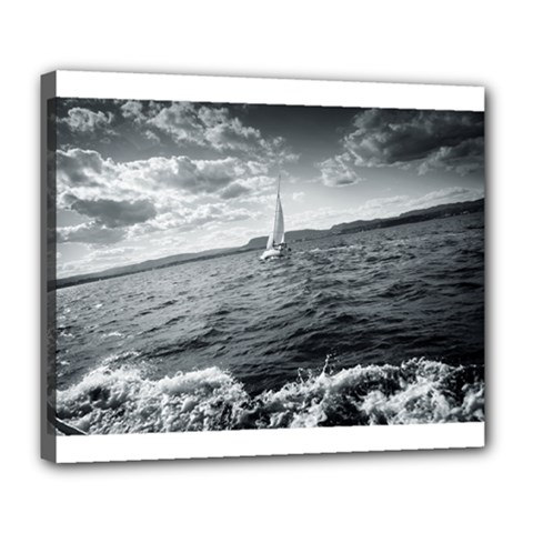 Sailing Deluxe Canvas 24  X 20  (stretched) by artposters