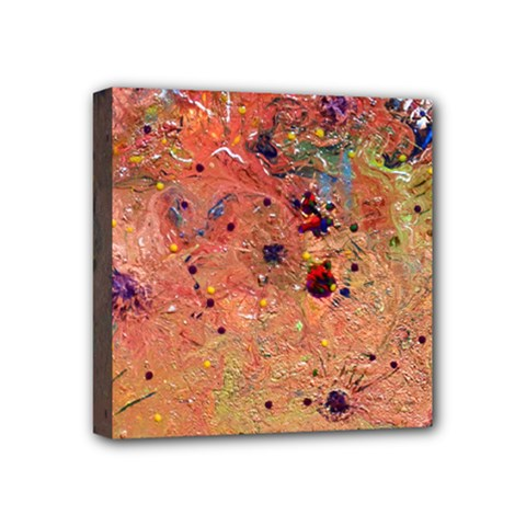 Diversity 4  X 4  Framed Canvas Print by dawnsebaughinc