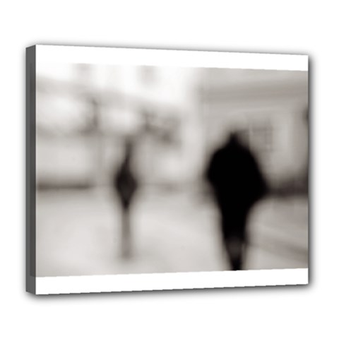 People Fading Away Deluxe Canvas 24  X 20  (stretched) by artposters