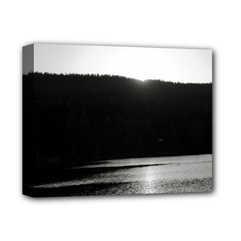 Waterscape, Oslo Deluxe Canvas 14  X 11  (stretched) by artposters