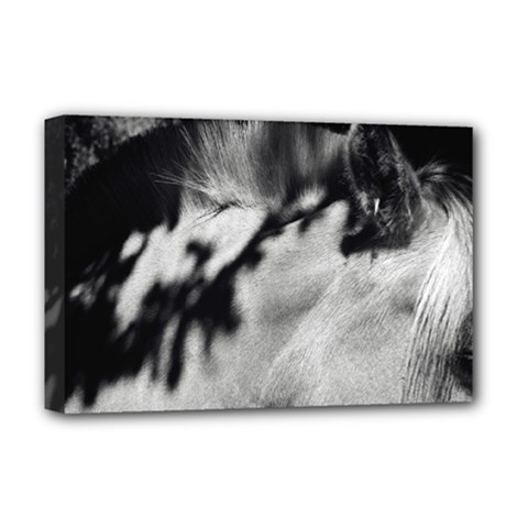Horse Deluxe Canvas 18  X 12  (stretched) by artposters