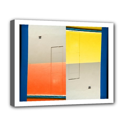 Geometry Deluxe Canvas 20  X 16  (stretched) by artposters