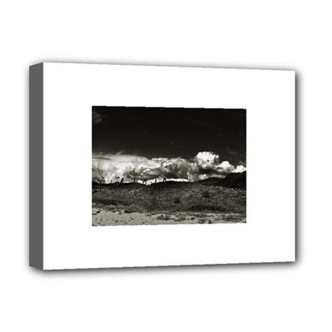 Landscape, Corsica Deluxe Canvas 16  X 12  (stretched)  by artposters