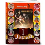jared 1st bday - 8x10 Deluxe Photo Book (20 pages)