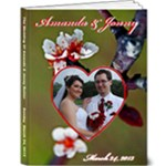 Jonny Amanda Wedding - 9x12 Deluxe Photo Book (20 pages)