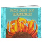 You are my sunshine 9x7 photo book - 9x7 Photo Book (20 pages)
