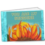 You are my sunshine 9x7 deluxe photo book - 9x7 Deluxe Photo Book (20 pages)