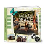 Miami album - 6x6 Deluxe Photo Book (20 pages)