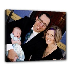 First Family Portrait Canvas - Canvas 20  x 16  (Stretched)