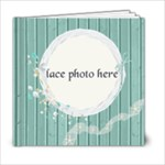 Beach_Frolic_6x6 - 6x6 Photo Book (20 pages)
