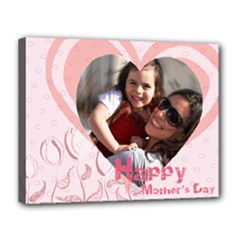 mothers day - Canvas 14  x 11  (Stretched)