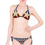 Wonder Woman Bikini, Red, White & Blue