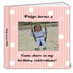 Paige turns 2 - 8x8 Deluxe Photo Book (20 pages)