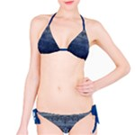 Denim Look Bikini - Bikini Set