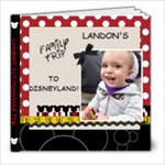 landon first disney trip - 8x8 Photo Book (20 pages)