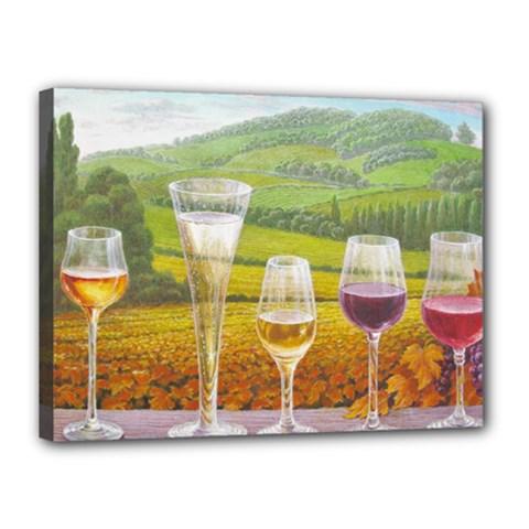 Vine 12  X 16  Framed Canvas Print by fabfunbox