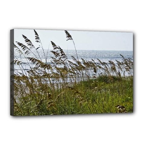 Cocoa Beach, Fl 12  X 18  Framed Canvas Print by Elanga