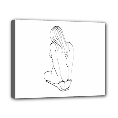 Bound Beauty 8  X 10  Framed Canvas Print by Deviantly