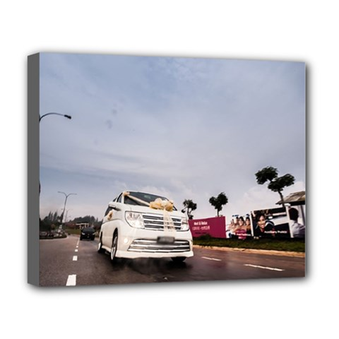 Wedding Car Deluxe Canvas 20  X 16  (stretched) by Unique1Stop
